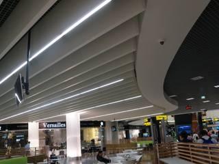 Reabilitação geral do Aeroporto de Lisboa (em obra) MIGUEL VISEU COELHO ARQUITECTOS ASSOCIADOS LDA Modern airports