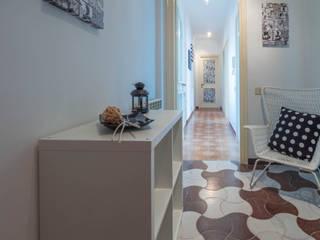 Erina Home Staging Couloir, entrée, escaliers modernes