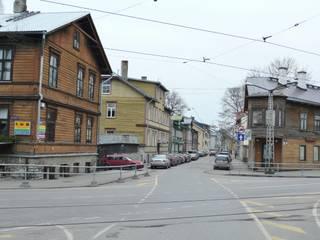 Skandinavisch Einrichten in einem alten Holzhaus in Tallinn by Baltic Design Shop Скандинавський