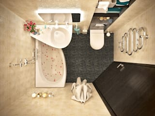 Modern style bathrooms by Lotos Design Modern