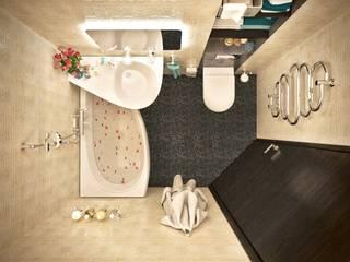 ห้องน้ำ โดย Lotos Design, โมเดิร์น