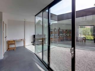 uitbreiding woonhuis Moderne serres van JMW architecten Modern