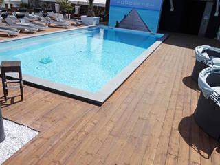 Beach clubs FKB Schwimmbadtechnik Kolam Renang Modern