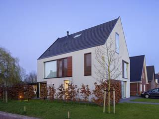vrijstaand woonhuis particulier Moderne huizen van JMW architecten Modern