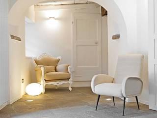 Pasillos, vestíbulos y escaleras de estilo escandinavo de MBA MARCELLA BRUGNOLI ARCHITETTO Escandinavo