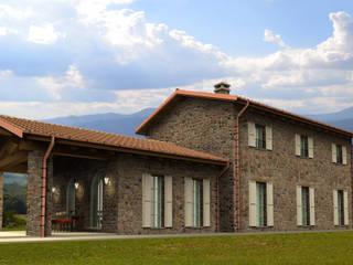 Casas de estilo rústico de MBA MARCELLA BRUGNOLI ARCHITETTO Rústico