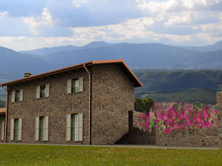 Rustic style house by MBA MARCELLA BRUGNOLI ARCHITETTO Rustic