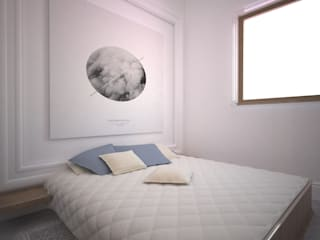 Progetto Modern style bedroom by Architetto Valentina Longo Modern