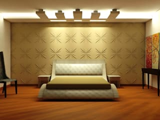 Modern style bedroom by TULI ARCHITECTS AND ENGINEERS Modern