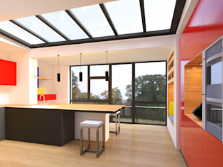 Modern kitchen by Metaforma Architettura Modern