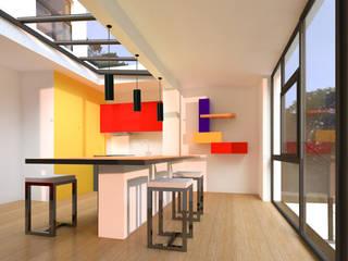 โดย Metaforma Architettura โมเดิร์น
