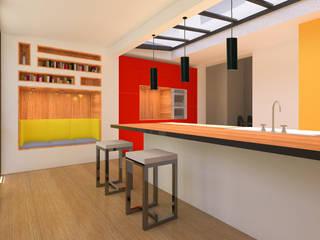 モダンな キッチン の Metaforma Architettura モダン