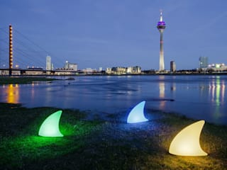 Shark Outdoor LED ACCU:   by Lampenloft