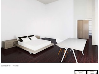 Moderne Schlafzimmer von baustudio Modern