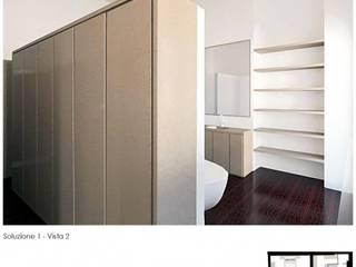 Moderne Badezimmer von baustudio Modern