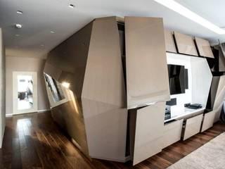 ALB EBANISTERÍA - ARQUITECTURA INTERIOR Living roomTV stands & cabinets