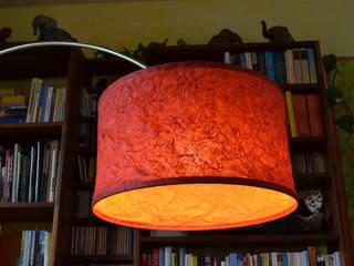 Genähte Lampenschirme espo-leuchten Ausgefallene Wohnzimmer Papier Mehrfarbig