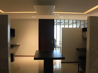 Sala de trabajo: Estudios y oficinas de estilo  por LC Arquitectura