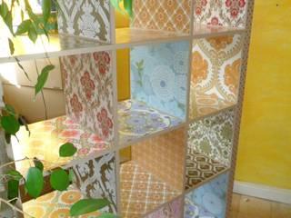 casa-creativa HouseholdStorage Chipboard Multicolored