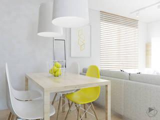 Salas de jantar modernas por FOORMA Pracownia Architektury Wnętrz Moderno