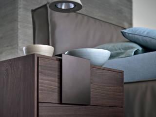 Novamobili Nachttisch Dotty: moderne Schlafzimmer von Livarea