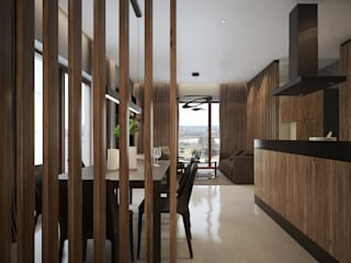 Dining room by OFD architects