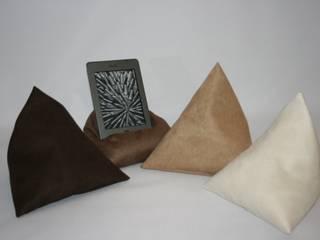 E-Bookstütze Petra Popp WohnzimmerAccessoires und Dekoration Textil Braun
