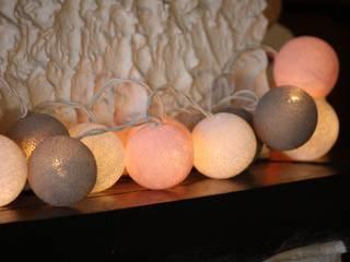20-er Cottonball-Lichterkette: Mädchentraum:   von Stöberland