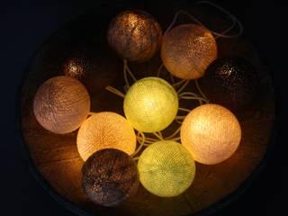 10-er -Cottonball-Lichterkette: Waldspaziergang:   von Stöberland