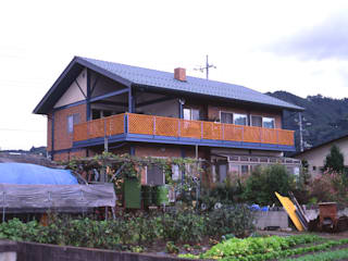 H鋼の家 モダンな 家 の アーキ・ヴォイス モダン