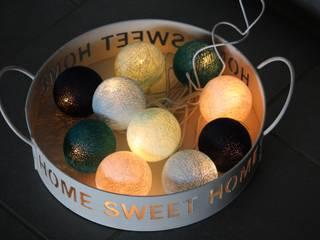 10-er Cotton Balls-Lichterkette: Karibik 2:   von Stöberland