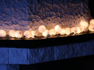 10-er Cotton Balls Lichterkette: White:   von Stöberland