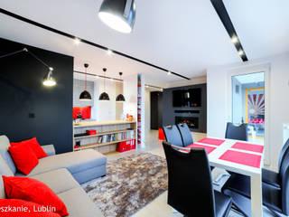 Living room by Auraprojekt, Modern