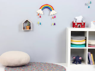 Rainbow Mobile: bunt의 현대 ,모던