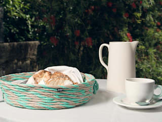 Tini Basket - Mint Cream:   por Jinja