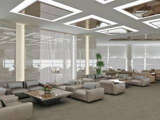 Aeropuertos de estilo  de HİSARİ DESIGN STUDIO, Moderno