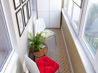 CO:interior Balcones y terrazas escandinavas