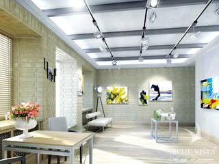 Centros de exhibiciones de estilo  por ARCHE VISTA, Minimalista
