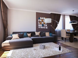 Insight Vision GmbH Modern Living Room Brown