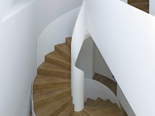 الممر الحديث، المدخل و الدرج من Nautilus Treppen GmbH&Co.KG حداثي