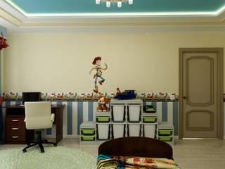 """Дизайн детской в стиле """"Игрушки"""" Детская комнатa в классическом стиле от Цунёв_Дизайн. Студия интерьерных решений. Классический"""