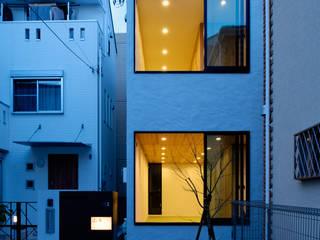 綱島の住宅 ミニマルな 家 の 山本晃之建築設計事務所 ミニマル