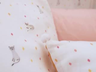 Collection chats sonia cavallini Chambre d'enfantsLits & Berceaux Coton Rose