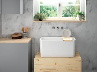 Melissa vilar KitchenSinks & taps Ceramic White