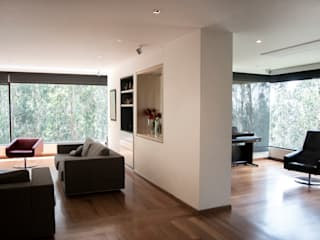 Living room by KDF Arquitectura,