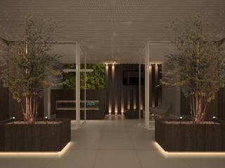 Escritório : Espaços comerciais  por Rentes Arquitetura e Interiores
