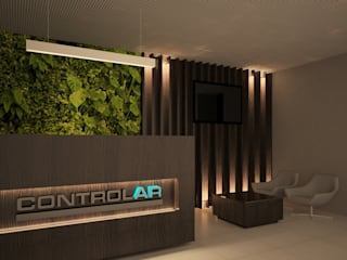 商業空間 by Rentes Arquitetura e Interiores, 現代風