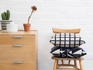 Grid & Angles Cushions:   by Seven Gauge Studios