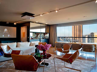 Projeto de Arquitetura e Decoração apartamento- Santo Agostinho por NB Projetos Moderno