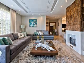 Reforma de personalidade: Salas de estar  por Olesko & Lorusso Arquitetura e Interiores